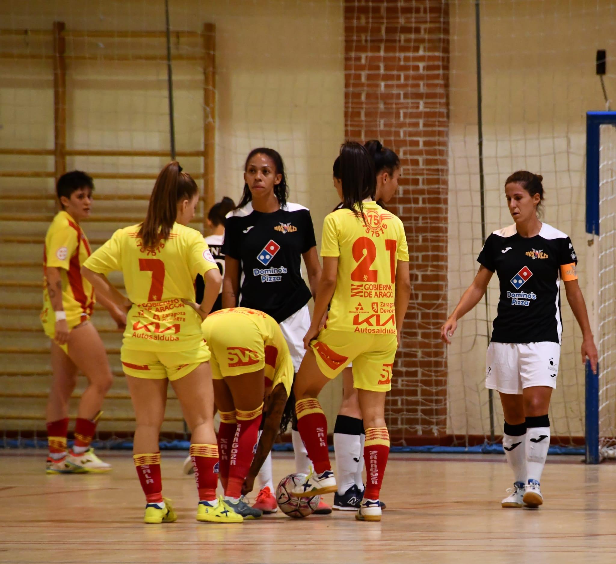 Crónica del Partido de Liga: FSF Mótoles - Sala Zaragoza. Jornada 3ª