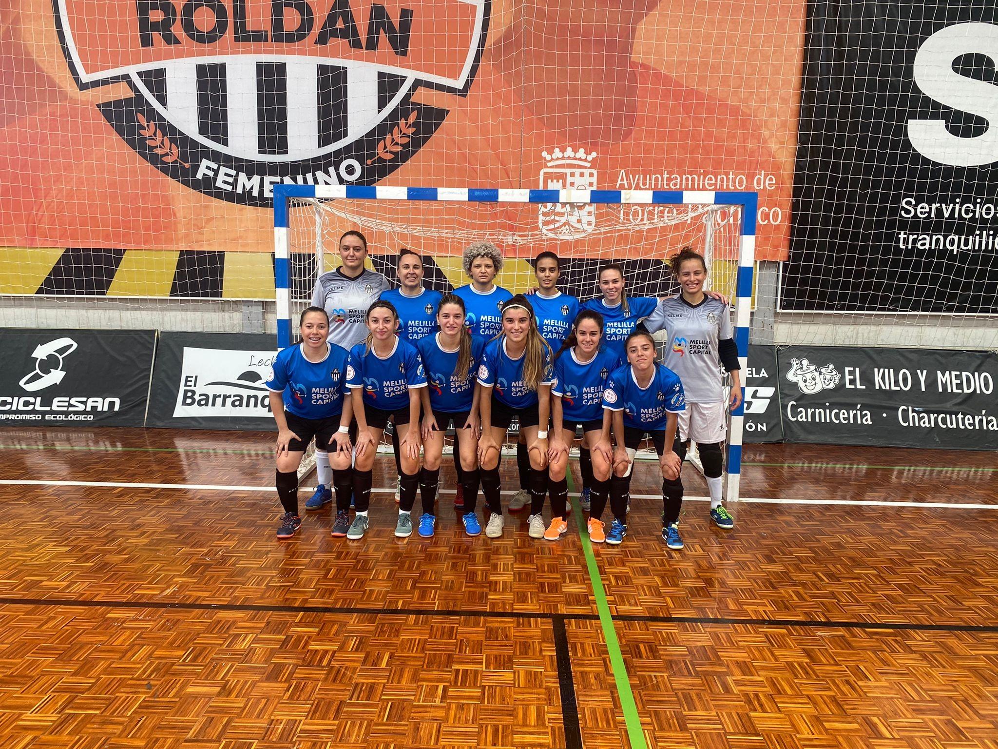 Crónica del Partido de Liga de 2ª División: El Barranquillo STV Roldán – MSC Torreblanca Melilla. Jornada 2ª. Grupo 3º